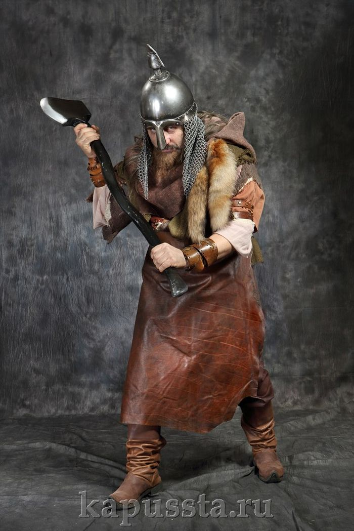 Viking with an ax