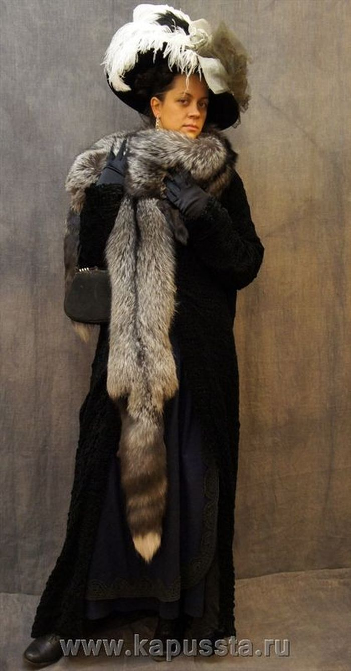 Women's Upper Womenswear with Fur of the Modern Age