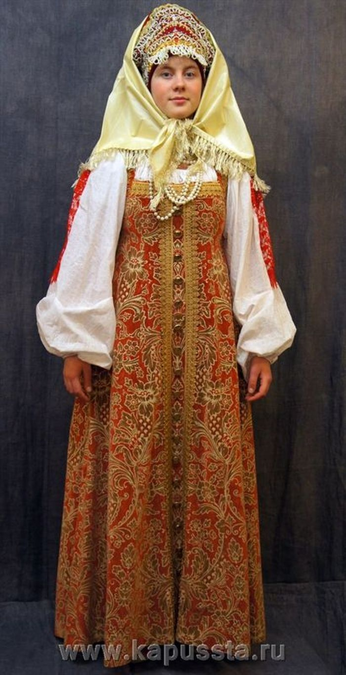 Costume of Russian matryona
