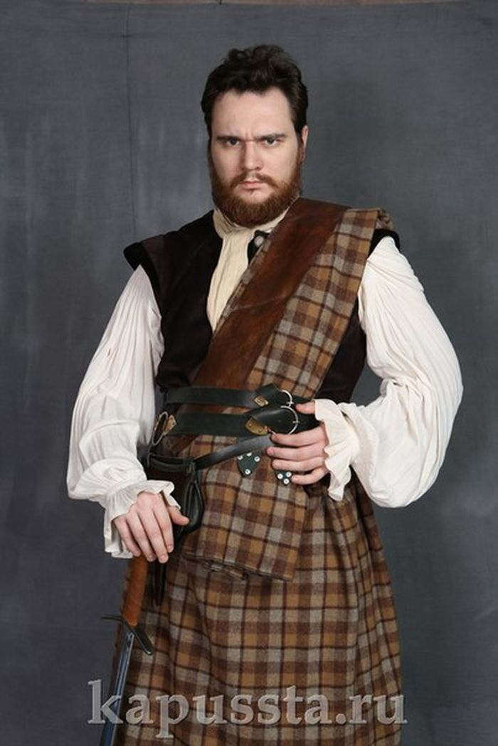 Men's Scottish Medieval Costume