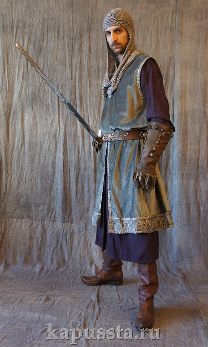 Warrior costume middle ages