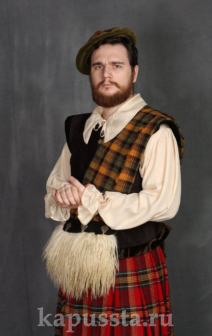 Scottish traditional costume