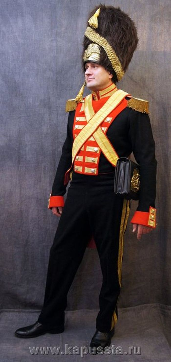 Form of the palace Grenadiers