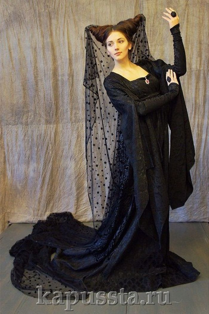 Maleficent-style costume