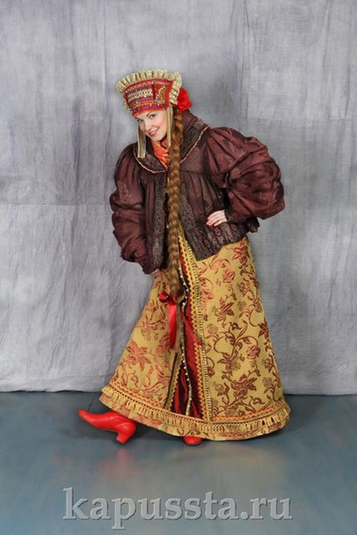 Russian winter costume
